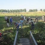 Акция по благоустройству родников  прошла в Ленинск-Кузнецком районе