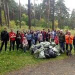 Сосновый бор, Good Line, добровольцы и борьба с мусором