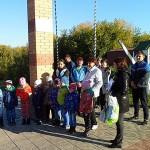 Эколята Мариинского района чистят речные берега