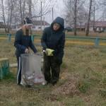 В Крапивинском районе волонтеры проводят субботники