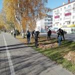 Всекузбасский субботник в Краснобродском