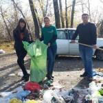 Субботник на «Кузнецкой экологической тропе»